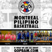 PBAM - Philippine Basketball Association of Montreal - Poster