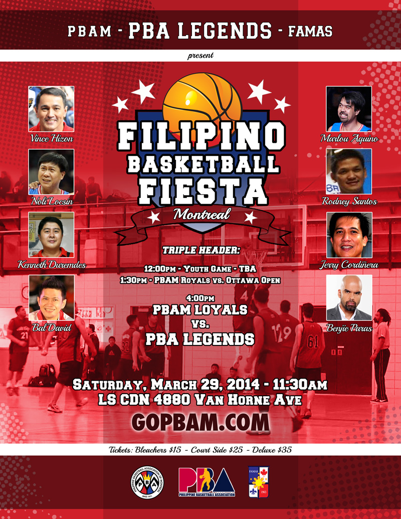 Montreal Filipino Basketball Fiesta